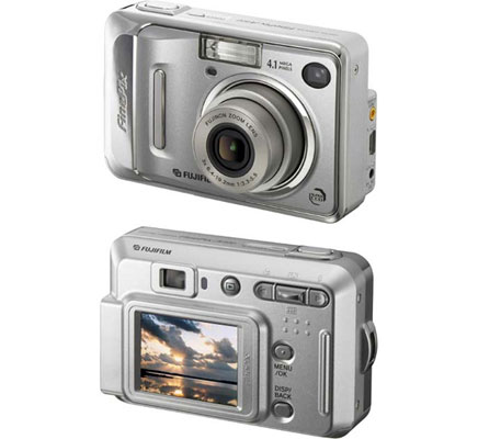 Fujifilm Finepix A400 4.0MP Digital Camera with 3x Optical Zoom