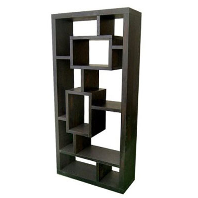 Exotic Retreat Bookcase/Room Divider