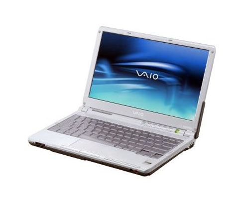"Sony VAIO VGN-TXN15P/T 11.1"" Razor Thin LCD Notebook"