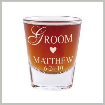 Bridal Party Shot Glass